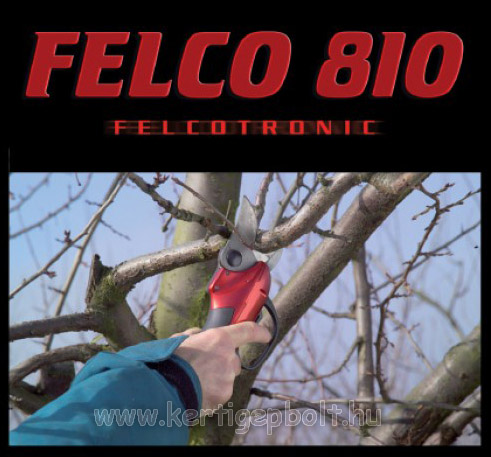 Felco 810 akkumulátoros metszõolló ajándék FELCO 8